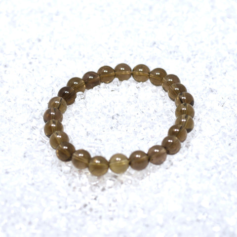 Smokey Quartz 8mm Bracelet