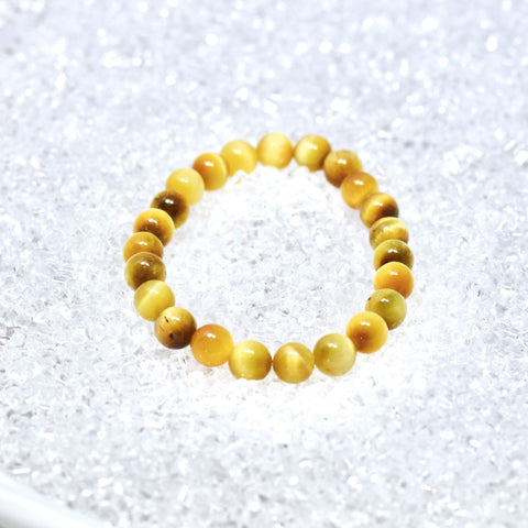 Tiger's Eye (Honey) 8mm Bracelet