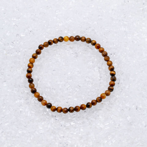 Tiger's Eye Bracelet 4mm
