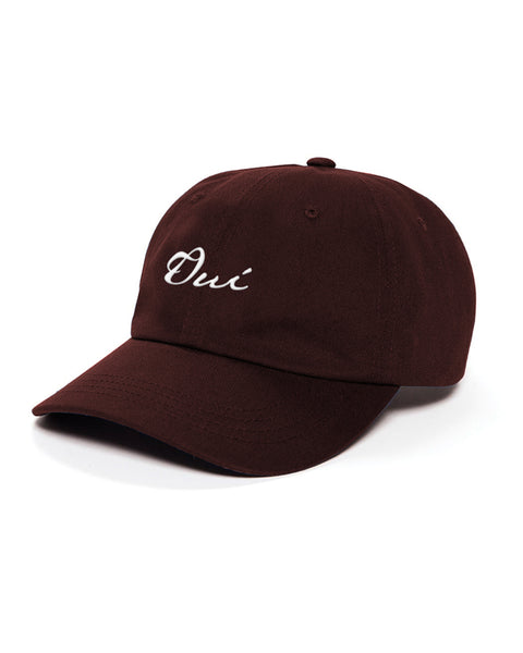 Signature Dad Hat - Maroon