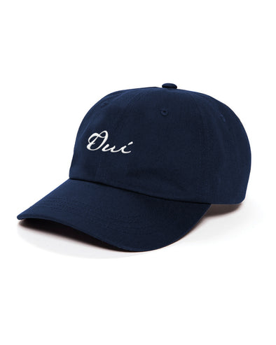 Signature Dad Hat - Navy