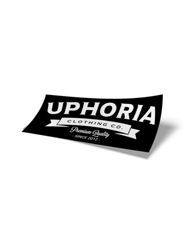 "Marquee 4"" Sticker - Black"