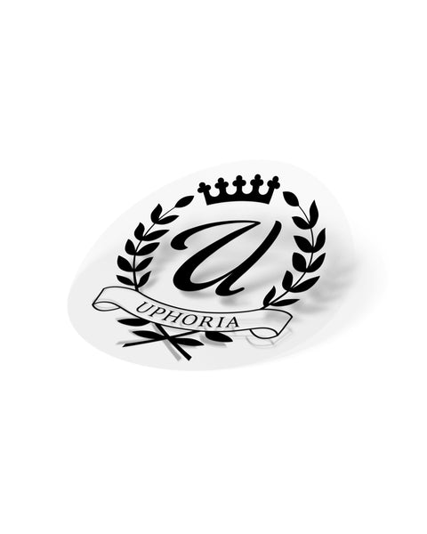 "Royalty 3"" Sticker - Clear"