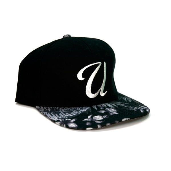 U Script Snapback - Tropical Bill