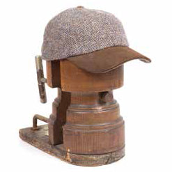 Baseball-hat Tweed