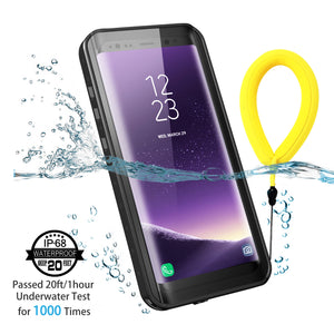 Samsung S8 plus Waterproof Case(Black)