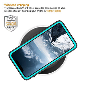 iPhone X/XS Waterproof Case(blue)