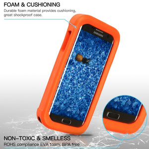 Galaxy S7 Edge Floating Case (Amazon Only--Temdan)