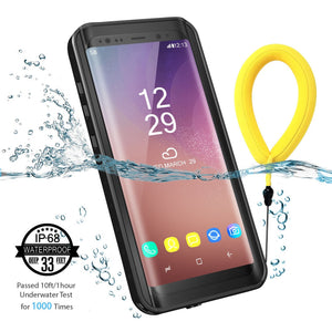 Galaxy S8 Plus Waterproof Case (Black)