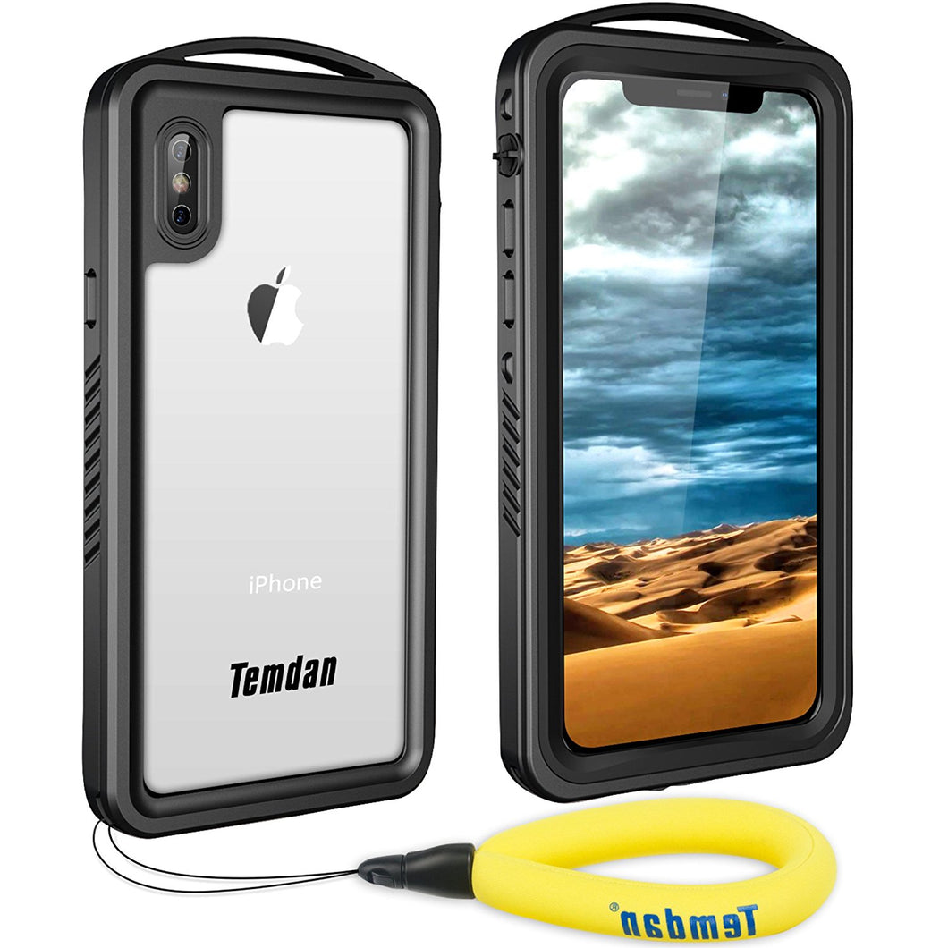2018 iPhone X/Xs Supreme Waterproof Case (Black)
