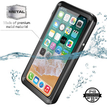iPhone X/XS Waterproof Case(Upgraded Metal)