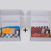 First Time Customers: Buy One SOCKS'n'TIE Set, Get One Free!
