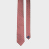 Burgundy Dotted Narrow Tie - STAX Attire