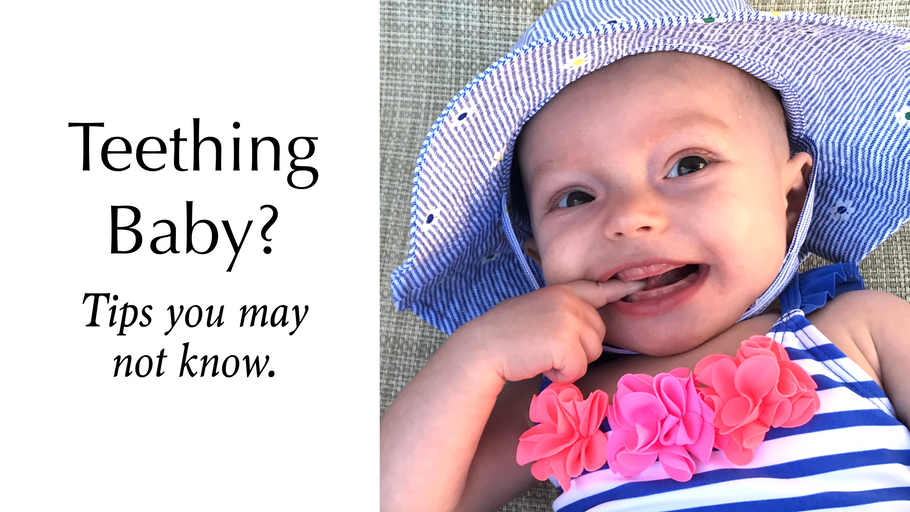 Your Baby Teething? Here's some tips and tricks you may haven't heard of.