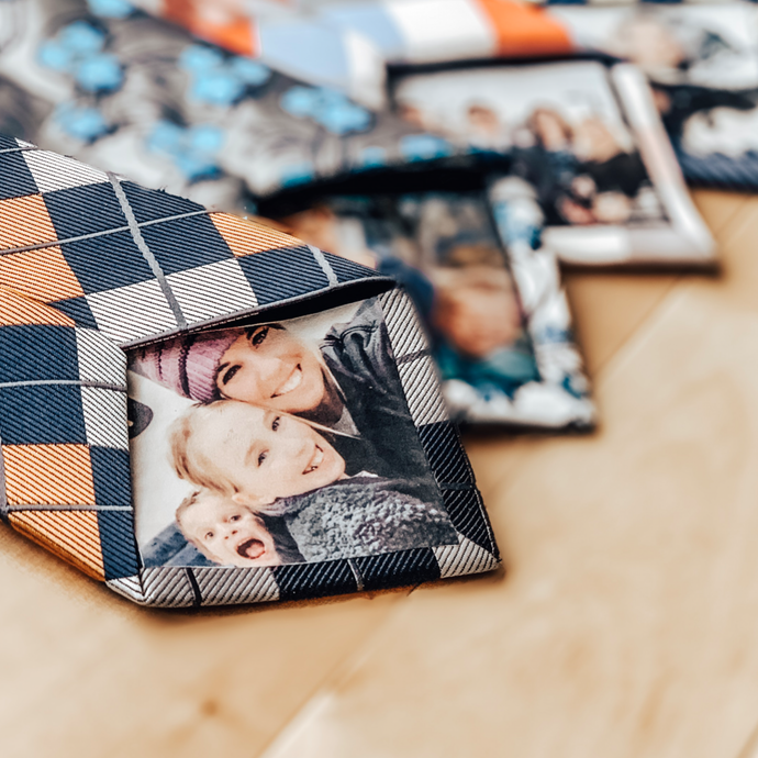 Personalized Photo Silk Tie Perfect Fathers Day Gift!