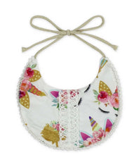 Load image into Gallery viewer, Minky Baby Bibs
