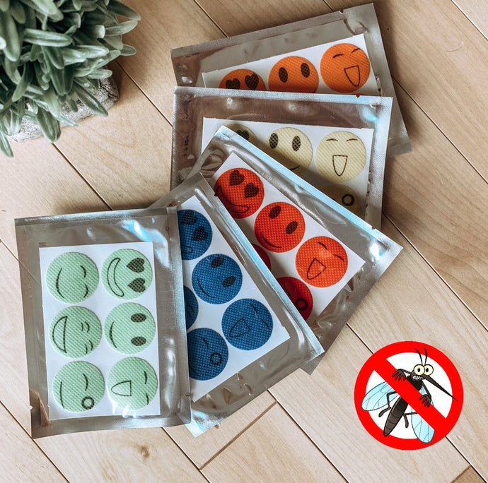 Non-Toxic Essential Oil Bug Repelling Stickers