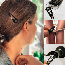 Load image into Gallery viewer, Survival Multi-tool Tactical Hair Clip