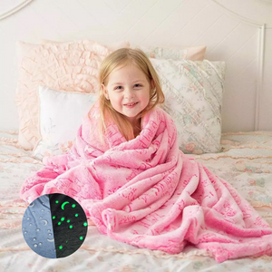 Magic Glow-in-the-Dark Blankets