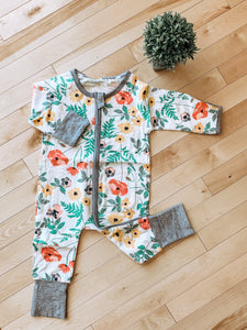 2-Way Zipper Rompers