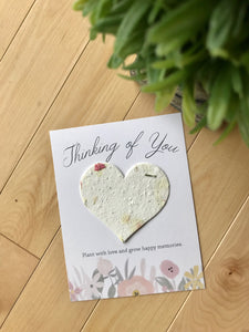 Unique Handmade Seed Cards