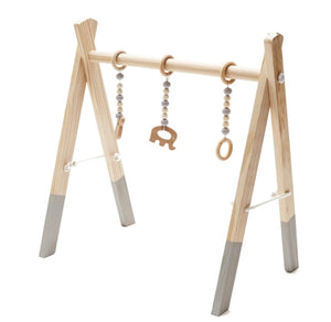 Wooden Baby Educational Play Gym