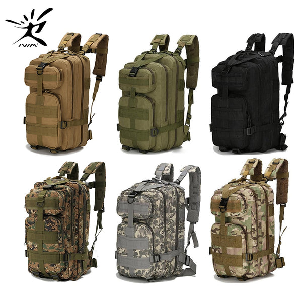 Tactical Military Outdoor Sports Hiking Camping Backpack Waterproof Army Nylon Backpack
