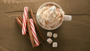 Protein White Peppermint Mocha