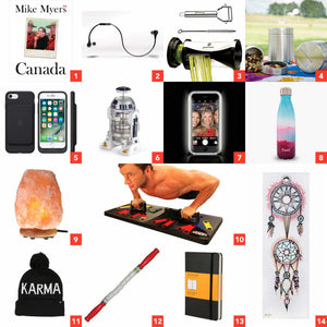 2016 Holiday Gifts for Everyone on Your List