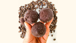 Chocolate Dipped Coffee Bites