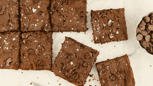 Protein Black Bean Brownies