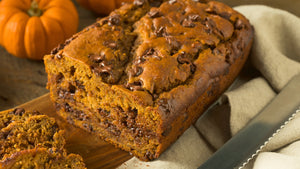 Chocolate Chip Pumpkin Protein Loaf
