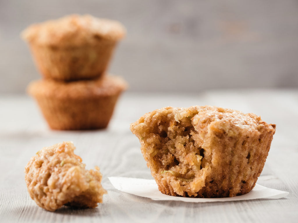 Apple Pecan Spiced Muffins