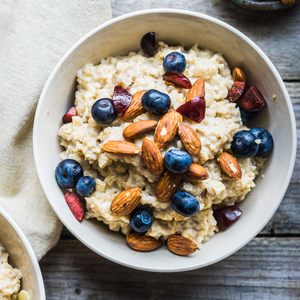 Warm Berry Oatmeal