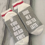 Chai Tea Latte Socks