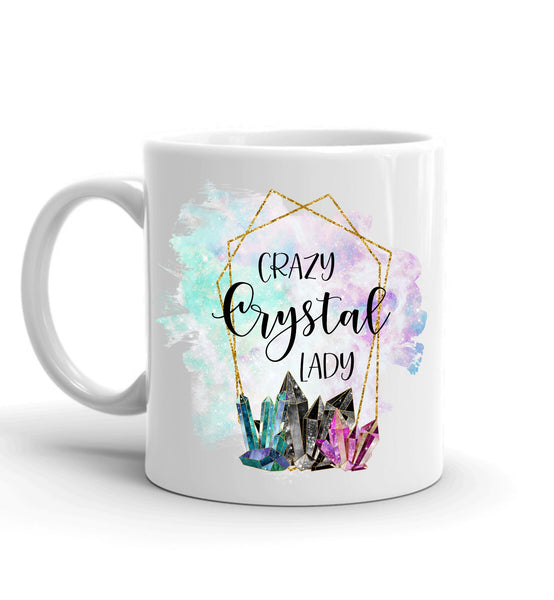 Crazy Crystal Lady Mug