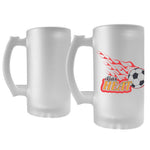 16 oz Custom Made Frosted Beer Mug