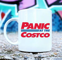 Panic at the Costco mug
