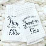 Grandma towels