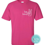 Be kind pink shirt