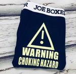Warning choking hazard boxer briefs