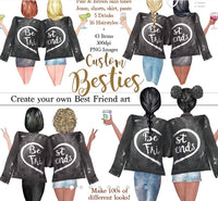 Best friends jacket options