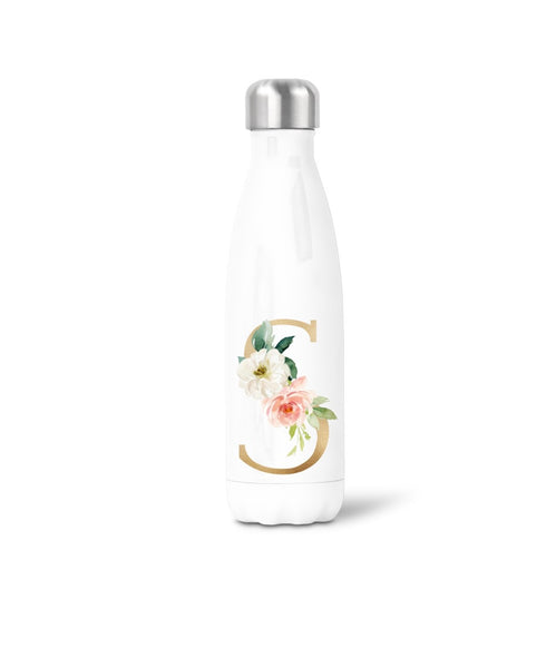 Swell style bottle with initial.