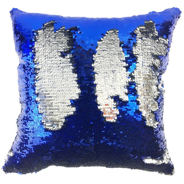 Mermaid sequin pillow