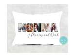 12x 20 Personalized photo pillow