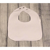 Custom made white bib