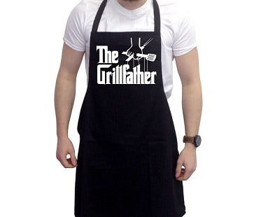 Grillfather apron black