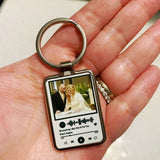 Playlist keychain