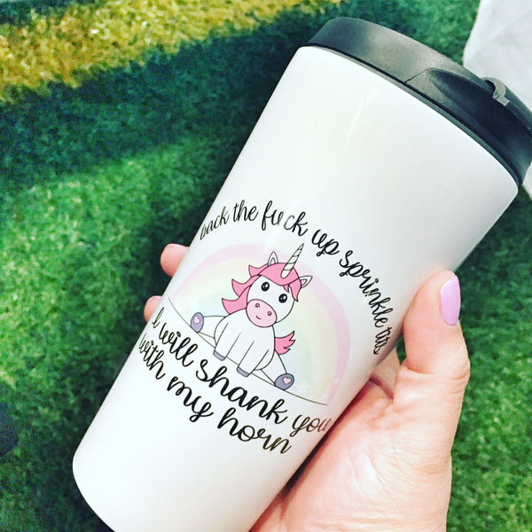 Sprinkle tits coffee tumbler