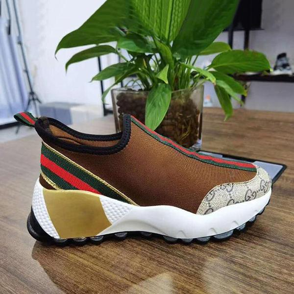 Micasahi Women Fashion Breathable Slip On Sneakers